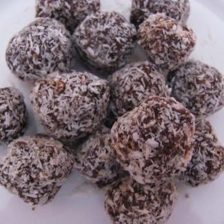 Čokoládové kuličky,recept