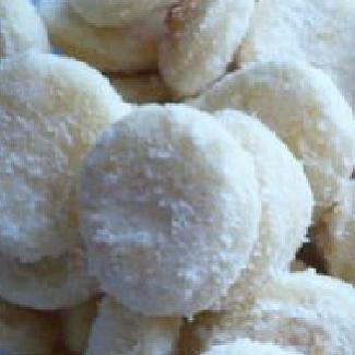 Šlehačkové cukroví,recept