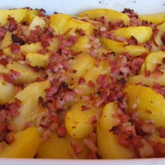Selské brambory,recept