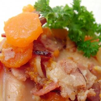 Králík na slanině,recept