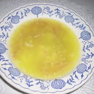 Šunková česnečka,recept