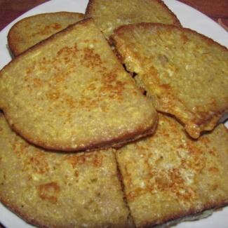 Opečený chleba do polévky