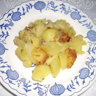 Opečené brambory,recept