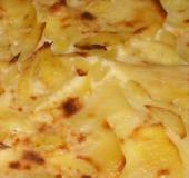Zapečené brambory s masem