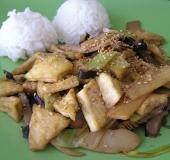 Tofu chung šao s bambusovými výhonky