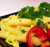 Těstoviny s vejci