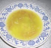 Šunková česnečka